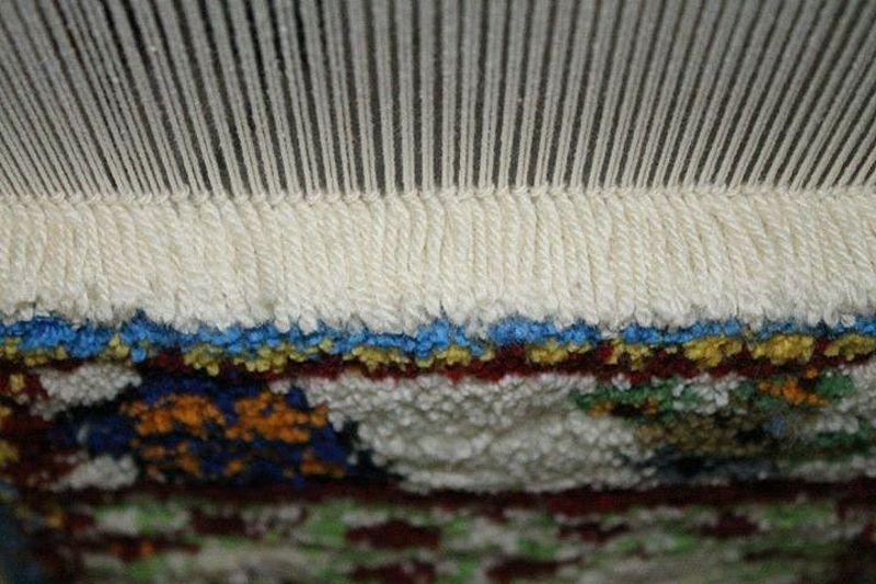 Teppich knüpfen  Teppichknüpfen