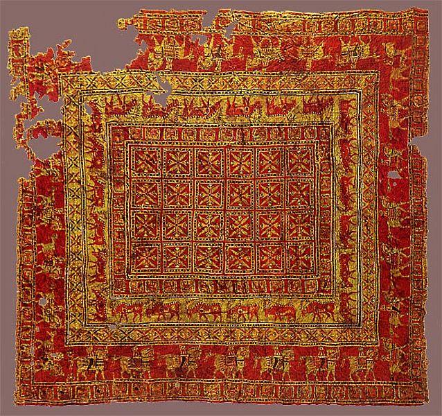 Russische Teppiche teppichknüpfen